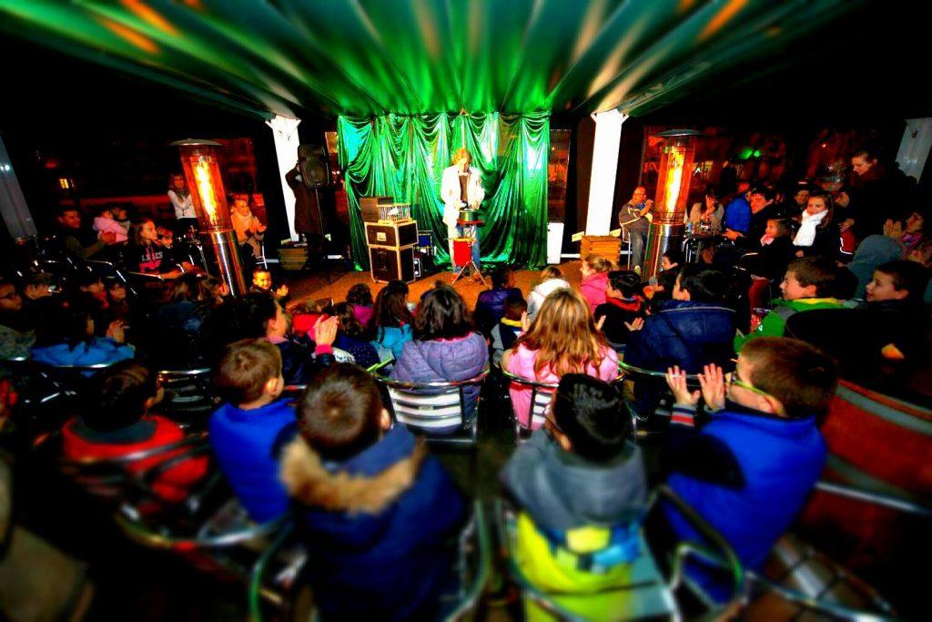 magia en Navidad con iurgi en Pamplona