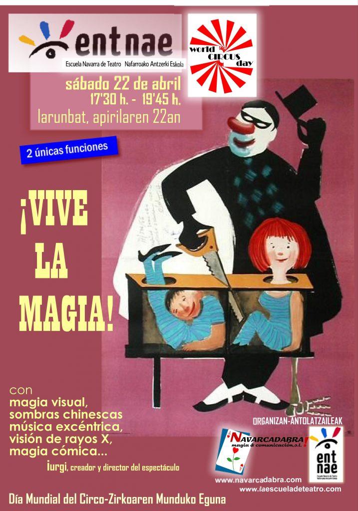 Día Mundial del Circo en Pamplona